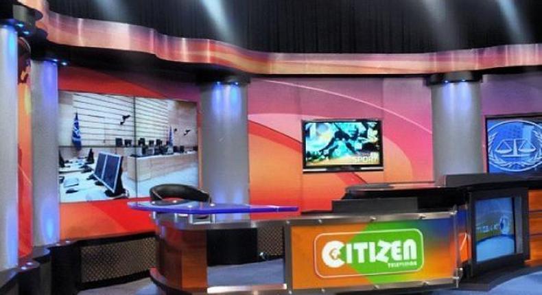 File image of Citizen TV studios where Kimani Mbugua works