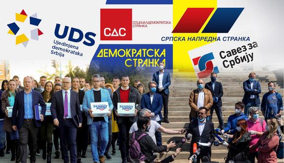 Stranke u Srbiji