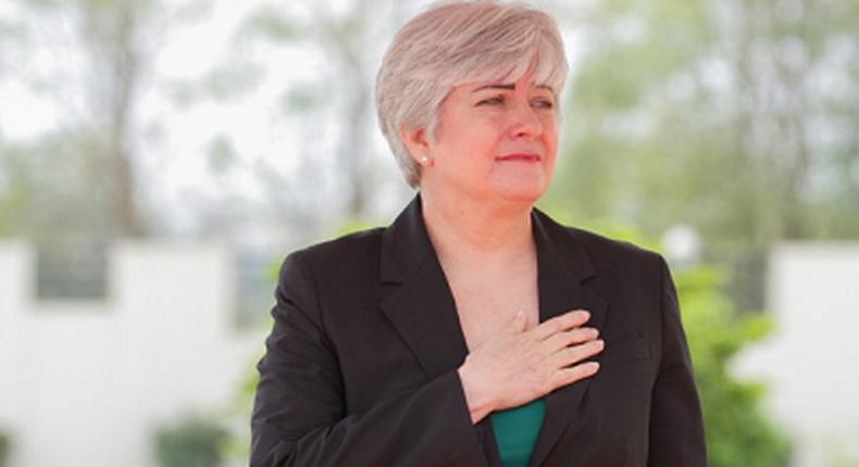 US Ambassador to Ghana Stephanie S. Sullivan