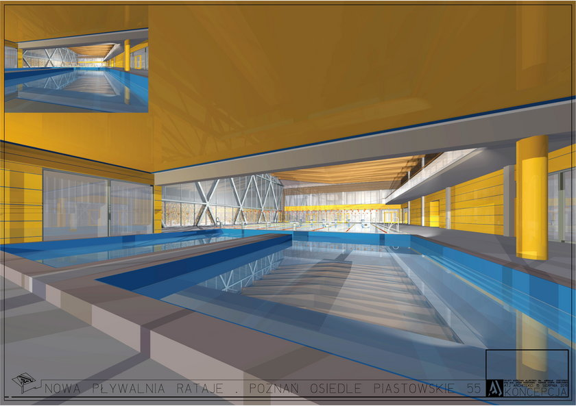 Budynek pływalni na Ratajach przejdzie kompleksową modernizację