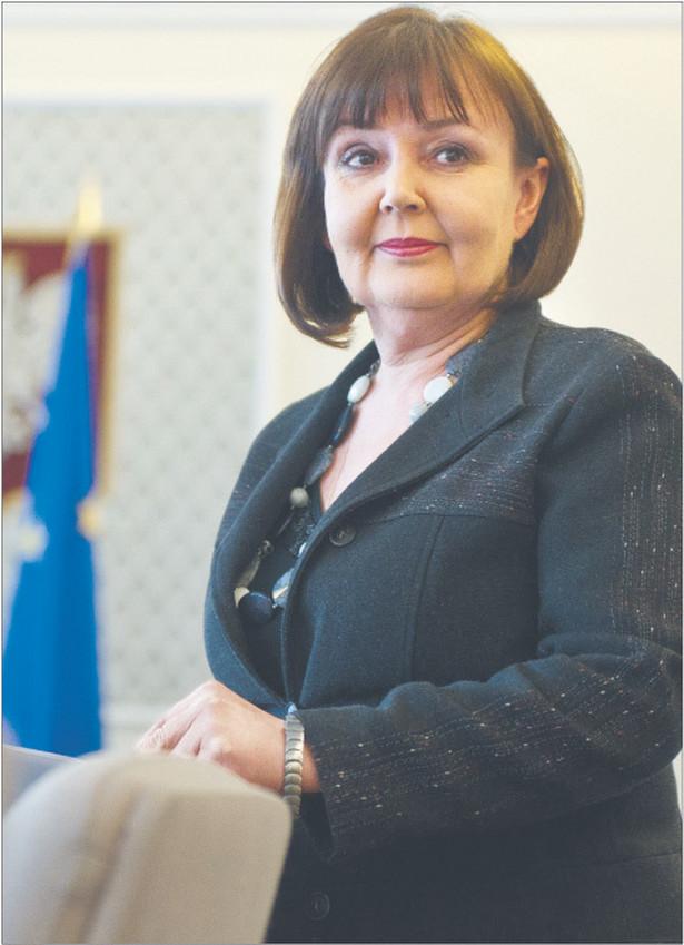 Jolanta Fedak, minister pracy i polityki społecznej, absolwentka Uniwersytetu Wrocławskiego Fot. Artur Chmielewski