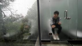 Załatw potrzebę i ciesz się naturą - przeszklone toalety w Chinach