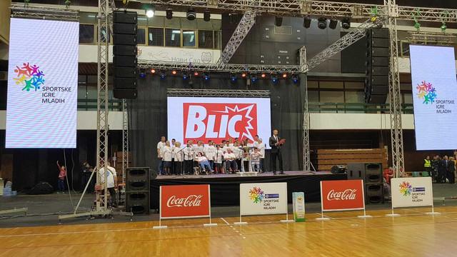 """I """"Blic"""" je među onima koji podržavaju Sportske igre mladih"""