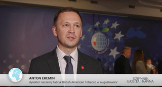 Anton Eremin z BAT na Forum Ekonomicznym w Karpaczu