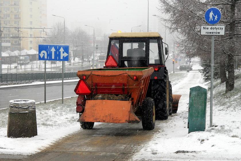 Zima oszczędza trójmiejskich drogowców