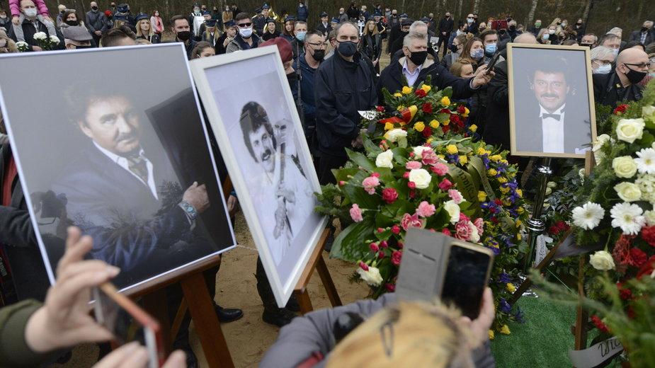 Pogrzeb Krzysztofa Krawczyka w Grotnikach