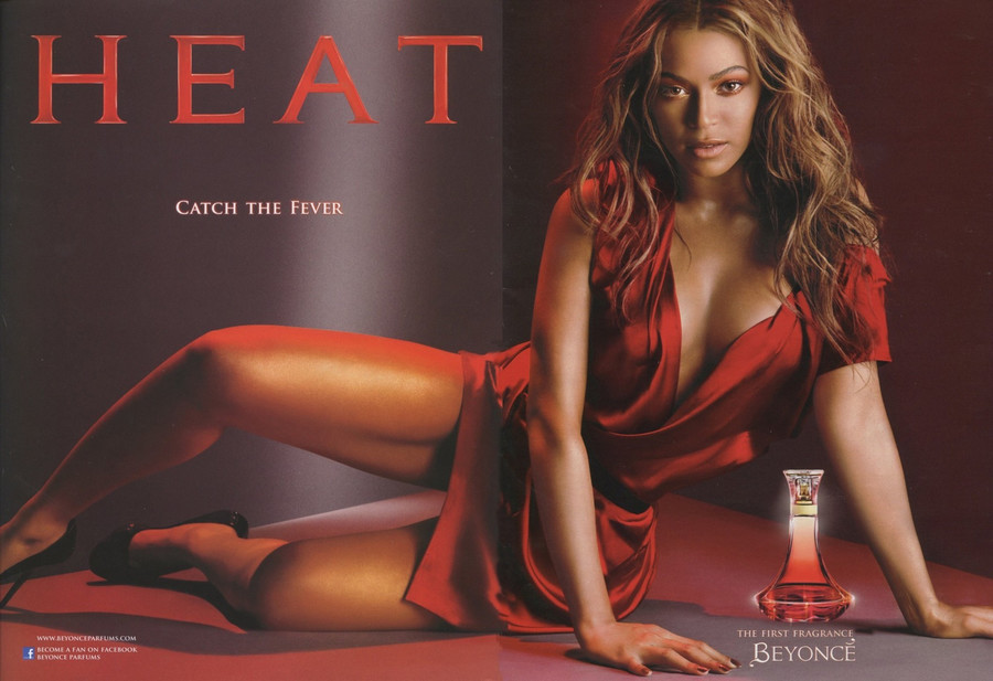 Beyonce - perfumy Heat / Splash News / EAST NEWS