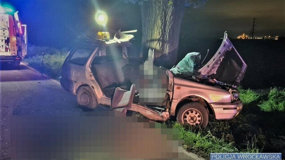 Wypadek w Krzyżowicach
