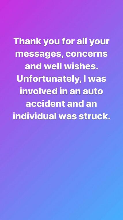 Ceec speaks on car crash [Instagram/CeecOfficial]