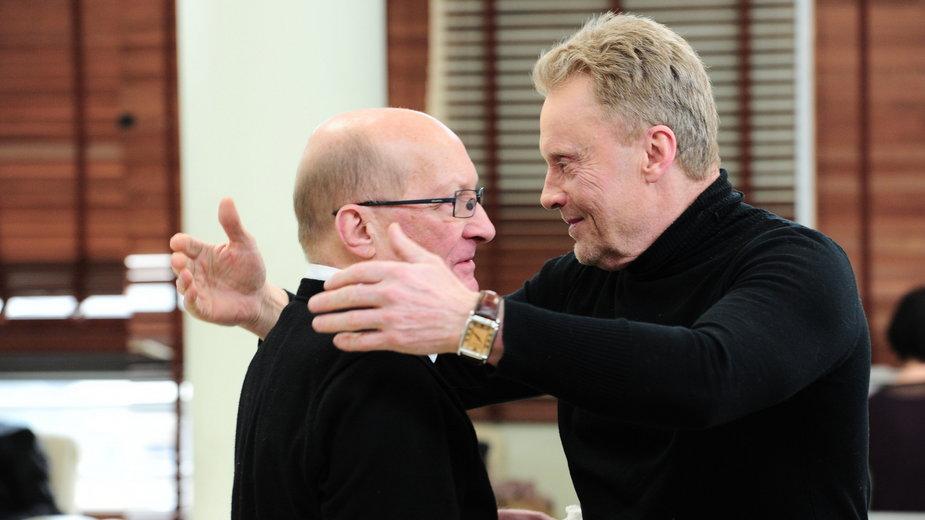 Wojciech Pszoniak i Daniel Olbrychski