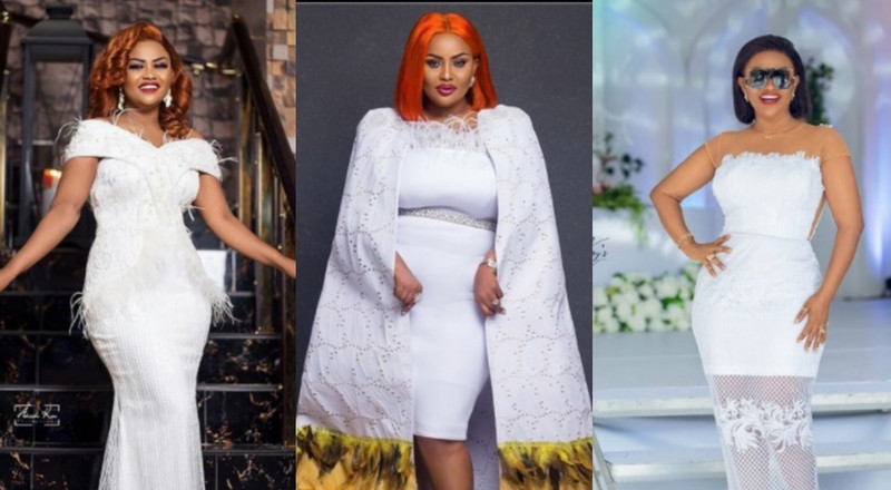 8 times actress Nana Ama McBrown spiked our love for white