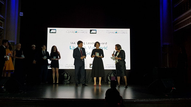 Ljubica Vukčević, Direct Media prima nagradu Young  Leaders