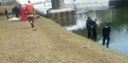 Ciało mężczyzny wyłowione z rzeki. To zaginiony Bartek