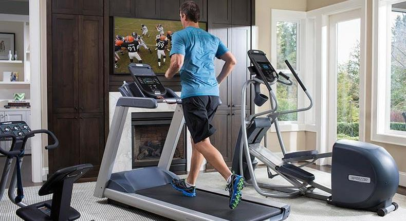 Fitness equipment at home (If you have something to work out with at home you can train whenever you want