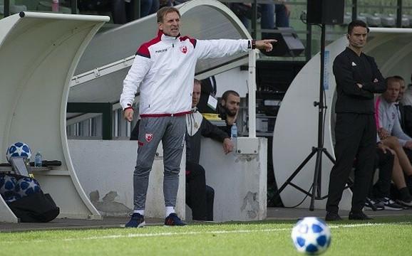 Bratislav Živković, trener omladinaca Crvene zvezde