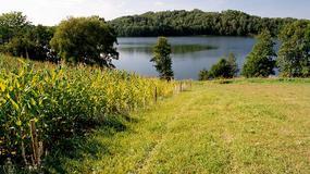 Suwalszczyzna: jezioro Hańcza zamarzło wcześniej