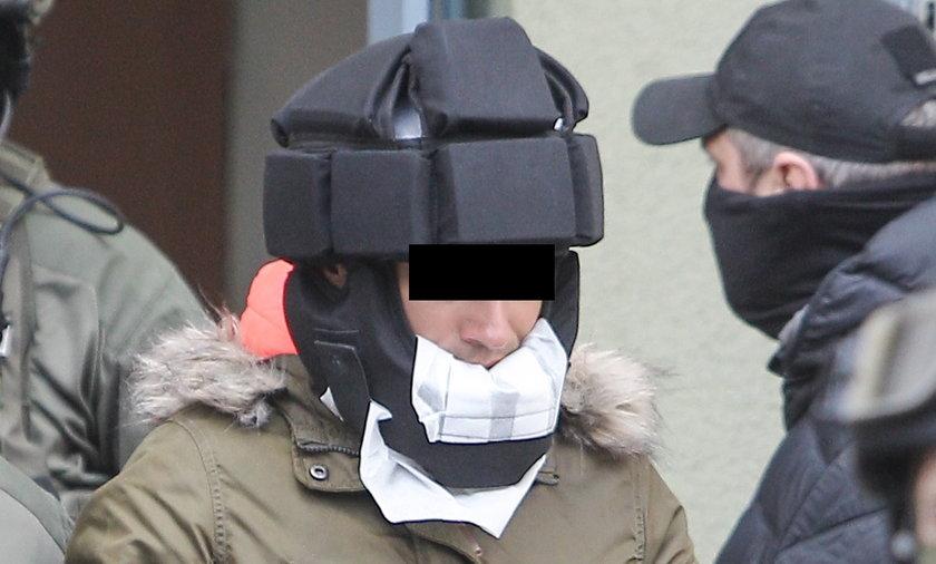 Kajetan P. oskarżony o brutalne zabójstwo w Warszawie