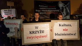 """""""Klątwa"""" Teatru Powszechnego na Festiwalu Dialog. Protest Krucjaty Różańcowej: występujemy przeciwko prześladowaniu Kościoła katolickiego"""
