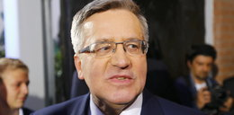 Bronisław Komorowski całkowicie rozbity po porażce