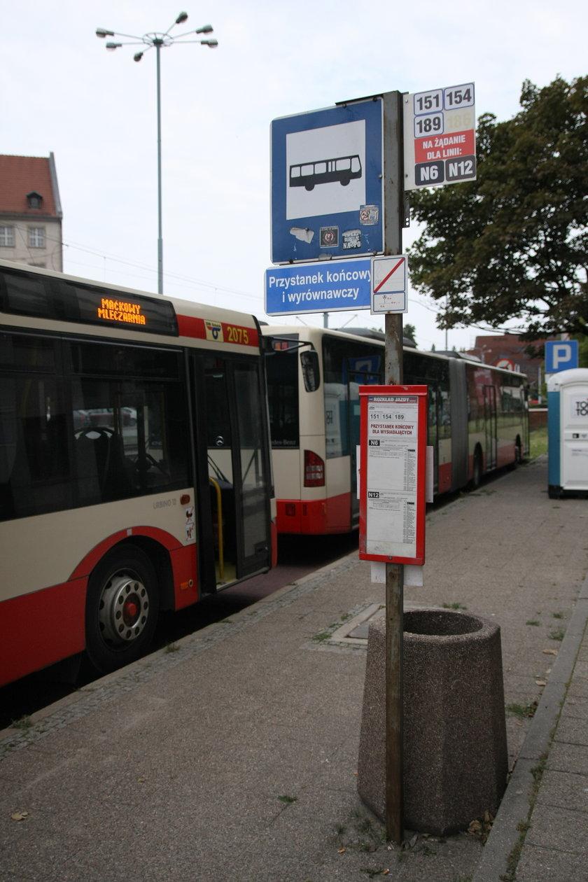 Przystanek w Gdańsku