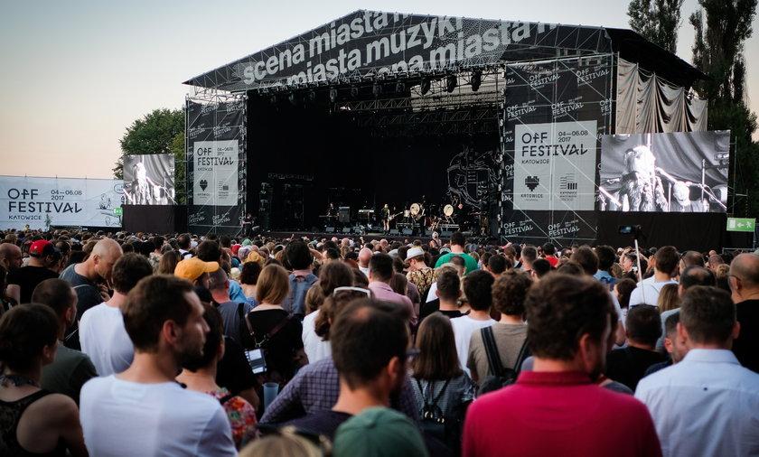 OFF Festival w Katowicach gromadził tłumy fanów muzyki.