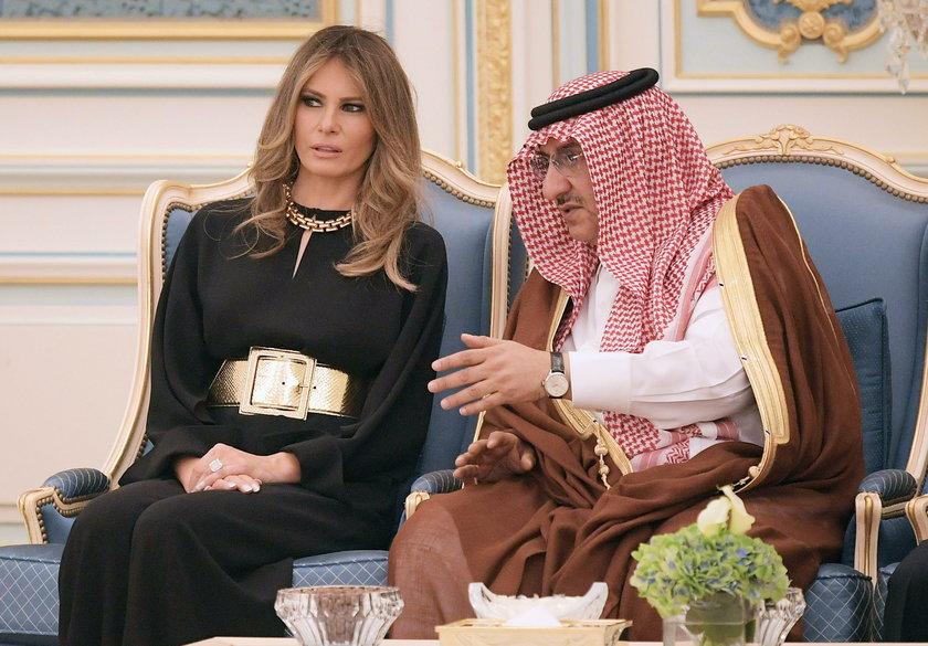 """Czy Melania Trump """"obraziła"""" Saudyjczyków?"""