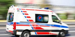Potworny wypadek w Dąbrowie Górniczej. Nie żyje małe dziecko