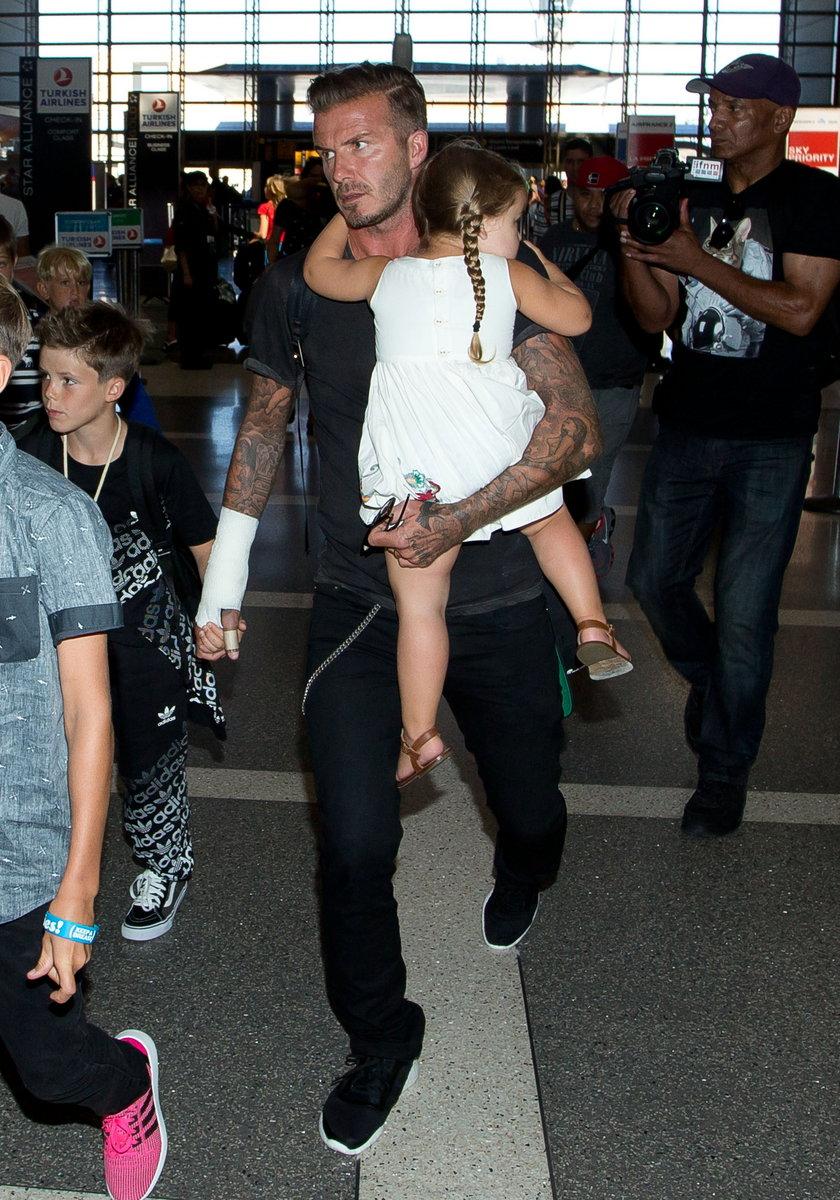David Beckham miał wypadek