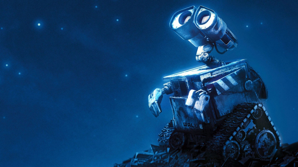 """WALL•E"", reż. Andrew Stanton, 2008 r."