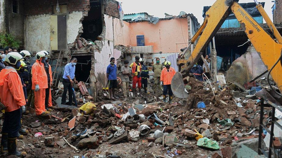 Akcja ratunkowa w Bombaju