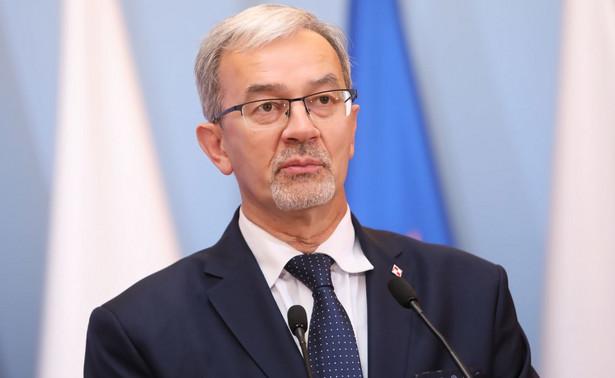 Minister finansów, inwestycji i rozwoju Jerzy Kwieciński