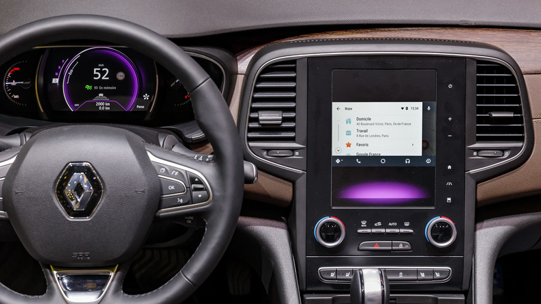 Renault Android Auto Waze