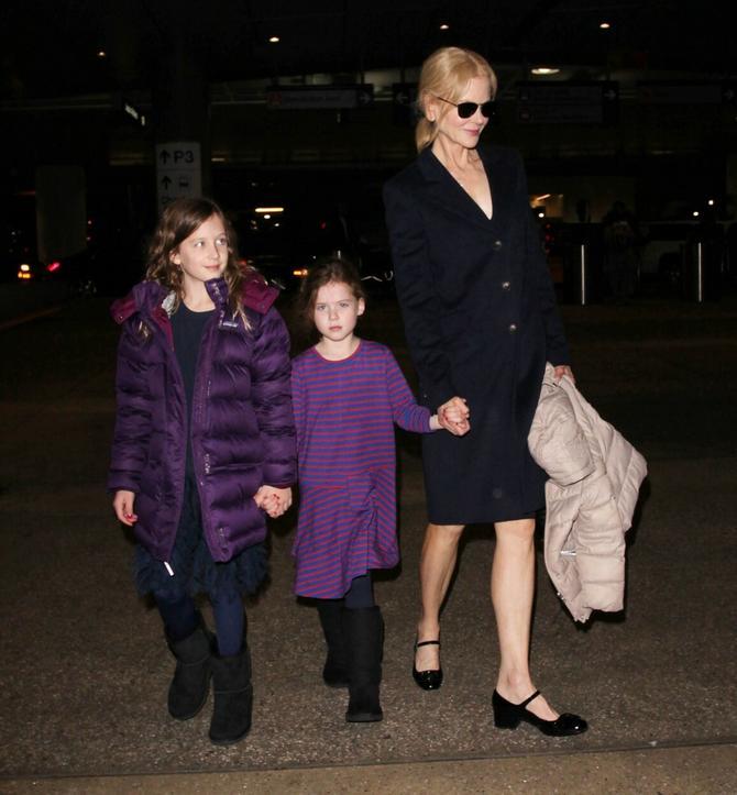 Glumica sa ćerkama