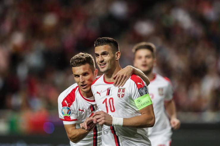 Fudbalska reprezentacija Portugala, Fudbalska reprezentacija Srbije