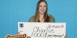 W dniu 18. urodzin wygrała na loterii. Do końca życia nie musi już pracować