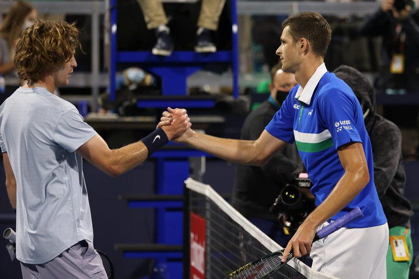 Hubert Hurkacz awansował do finału turnieju ATP w Miami