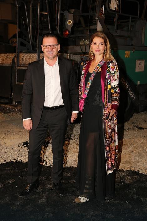 Peđa Mijatović i supruga Aneta