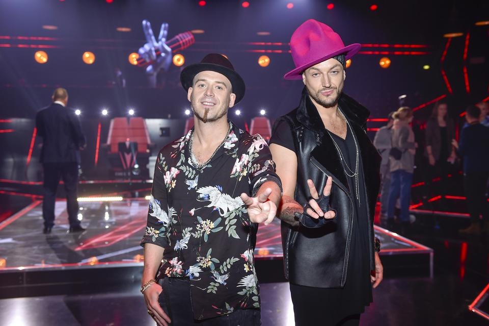 "Tomson i Baron na planie ""The Voice of Poland 10"""