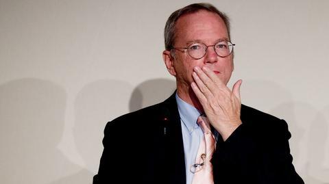 Eric Schmidt, przewodniczący zarządu firmy Alphabet, do której należy Google