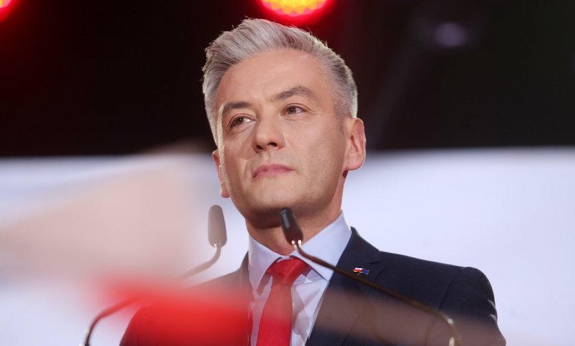 Robert Biedroń, lider partii Wiosna