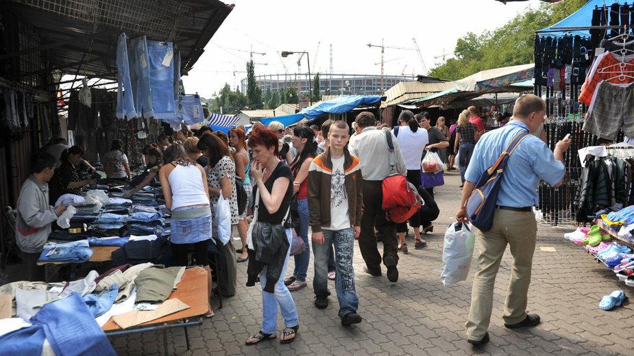 Ostatni dzień handlu na Stadionie Dziesięciolecia w Warszawie