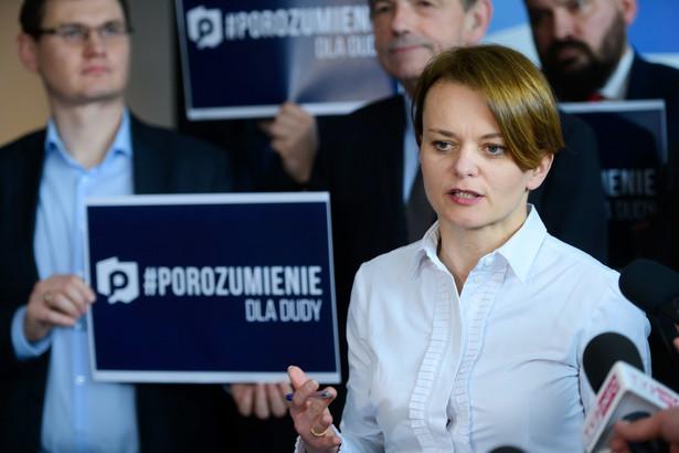 Jadwiga Emilewicz mówiła, że efekty działalności Polskiej Strefy Inwestycji są na bieżąco monitorowane, a resort rozwoju pracuje nad zmianą przepisów dotyczących inwestycji
