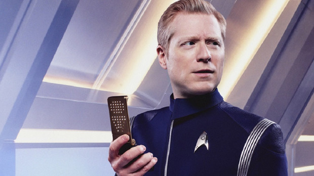 "Anthony Rapp în ""Star Trek: Discovery"""