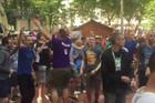 """""""SRBIJA, SRBIJA"""" Ovako se slavio trijumf """"orlova"""" na Svetskom prvenstvu /VIDEO/"""