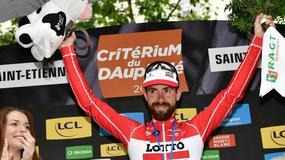 Criterium du Dauphine: Thomas De Gendt wygrał etap, Kwiatkowski w peletonie