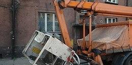 Tragedia na Śląsku. Z 10 metrów runęli na asfalt