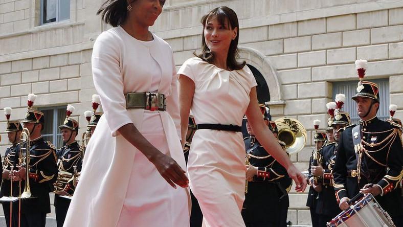 Carla Bruni; Michelle Obama