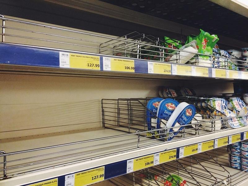 Tak Obecnie Wyglądają Sklepy Spożywcze W Rosji