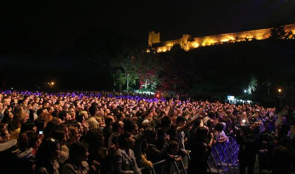Na koncertu je bilo oko 3.000 ljudi