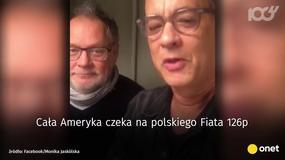 Tom Hanks składa życzenia i śpiewa po polsku